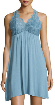 Fleurt Fleur't Lace-Back Tank Lounge Dress/Chemise