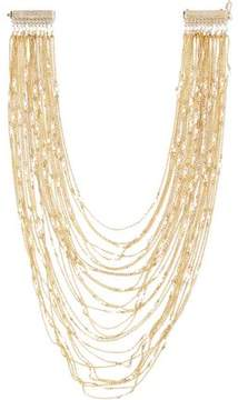 Rosantica Lilade Gold-Tone Faux Pearl Necklace