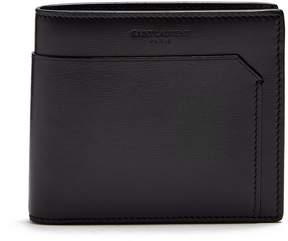 Saint Laurent Fragments bi-fold leather wallet