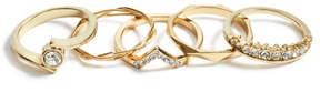 GUESS Brilla Gold-Tone Ring Set
