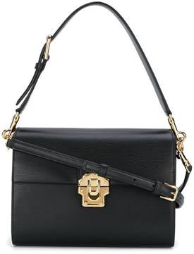 Dolce & Gabbana medium 'Lucia' shoulder bag - BLACK - STYLE