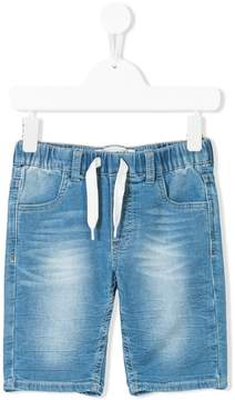 Levi's Kids drawstring-waist denim shorts