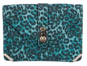 Rebecca Minkoff Love Envelope Clutch - ANIMAL PRINT - STYLE