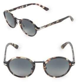Persol 28MM Round Sunglasses
