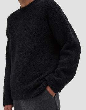 Our Legacy Popover Roundneck Lamb's Fleece Charcoal
