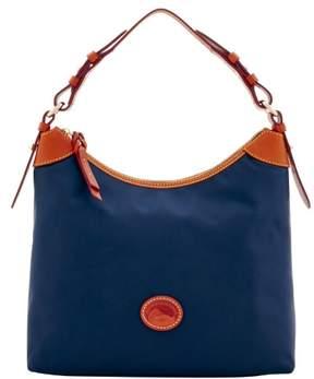 Dooney & Bourke Nylon Large Erica Shoulder Bag - NAVY - STYLE