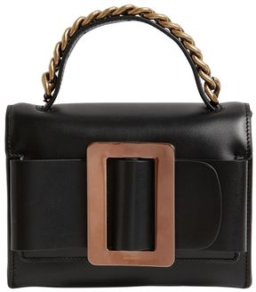 Fred Brushed Leather Bag W/ Chain Detail