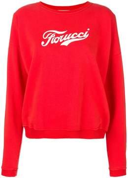 Fiorucci logo print sweatshirt