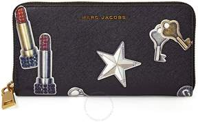 Marc Jacobs Continental Wallet - Black