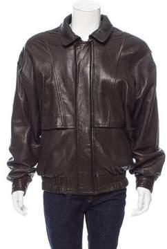 Andrew Marc Leather Flight Jacket