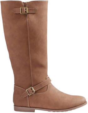 Joe Fresh Kid Girls' Riding Boots, Tan (Size 5)