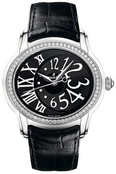 Audemars Piguet Millenary 77301st.zz.d002cr.01 Stainless Steel & Leather 39.5mm x 35.5mm Watch
