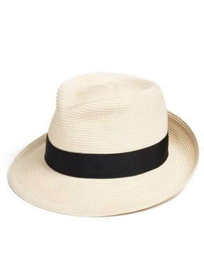Eric Javits Women's 'Classic' Squishee Packable Fedora Sun Hat - Ivory