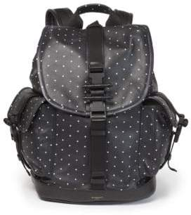 Givenchy Obsedia Cross Print Leather Backpack