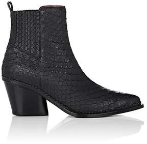 Sartore Women's Python Ankle Boots