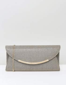 Carvela Delilah Foldover Clutch in Bronze