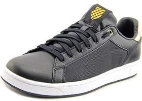 K-Swiss Clean Court Cmf Round Toe Leather Tennis Shoe.