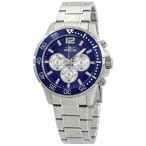 Invicta Specialty Chronograph Blue Dial Men's Watch 23664