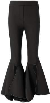 Ellery Ox Bow Crop Flare Pants