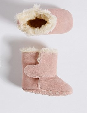 Marks and Spencer Baby Suede Boots