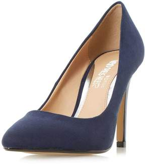 Head Over Heels *Head Over Heels By Dune Navy 'Alice' High Heel Court Shoes