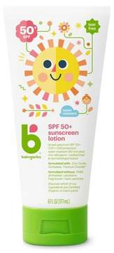 Babyganics Mineral-Based Baby Sunscreen Lotion, SPF 50 - 6oz