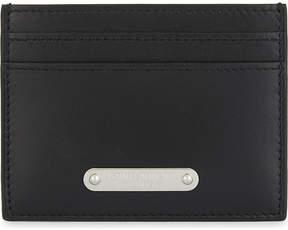 Saint Laurent Branded plaque leather logo - BLACK - STYLE