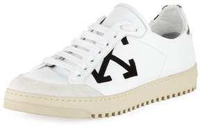 Off-White Lace-Up Low-Top Sneaker