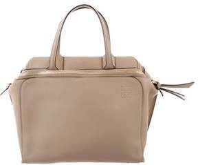 Loewe Triple-Zip Leather Tote