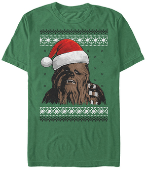 Fifth Sun Star Wars Kelly Holiday Chewie Tee - Men's Regular