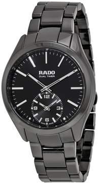 Rado Hyperchrome Dual Timer XL Touch Black Ceramic Men's Watch