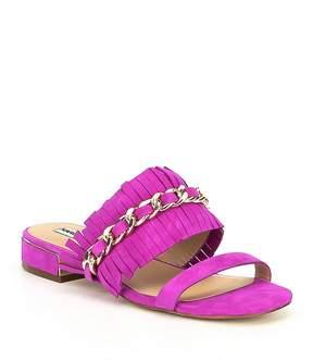 Karl Lagerfeld Paris PARIS Athens Syuede Chain Sandals