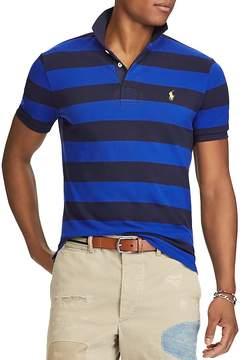Polo Ralph Lauren Striped Mesh Custom Slim Fit Polo Shirt - 100% Exclusive
