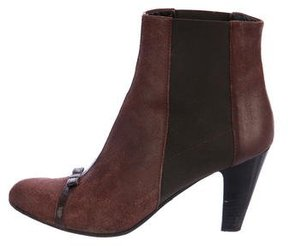 Nanette Lepore Leather Be My Baby Ankle Boots