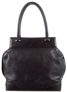 Costume National Leather Handle Bag
