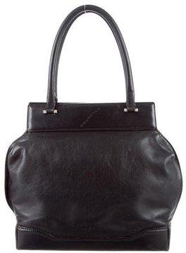 Costume National Leather Handle Bag