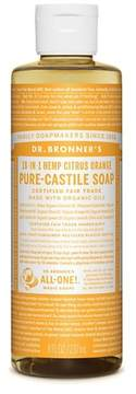 Dr. Bronner's Citrus Pure-Castile Liquid Soap - 8oz