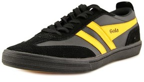 Gola Maze Round Toe Leather Sneakers.