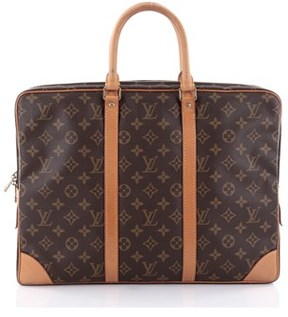 Louis Vuitton Pre-owned: Porte-documents Voyage Briefcase Monogram Canvas Pm.