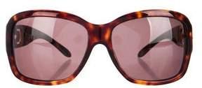 Bvlgari Embellished Square Sunglasses