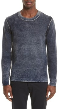 ATM Anthony Thomas Melillo Men's Acid Wash Sweater