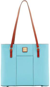 Dooney & Bourke Pebble Grain Lexington Shopper Tote - CARIBBEAN BLUE - STYLE