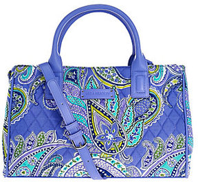 Vera Bradley As Is Signature Print Compartment Satchel - ONE COLOR - STYLE