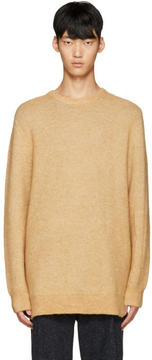 3.1 Phillip Lim Tan Wool Tunic Sweater