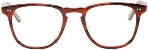 Garrett Leight Tortoiseshell Clip-On Brooks Optical Glasses