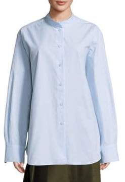 Sara Lanzi Oversized Cotton Shirt