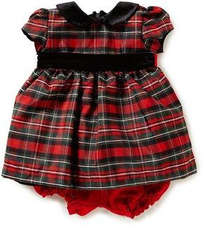 Jayne Copeland Baby Girls 3-24 Months Christmas Plaid Dress