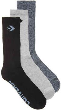 Converse Star Chevron Crew Socks - 3 Pack - Men's