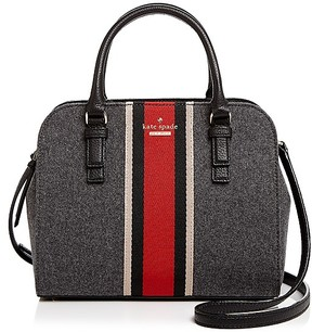 Kate Spade Jackson Street Small Satchel - CHARCOAL/GOLD - STYLE