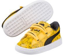 Puma Minions Basket Preschool Sneakers
